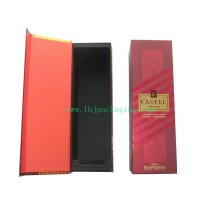 Red Wine Packaging Magnet Paper Box