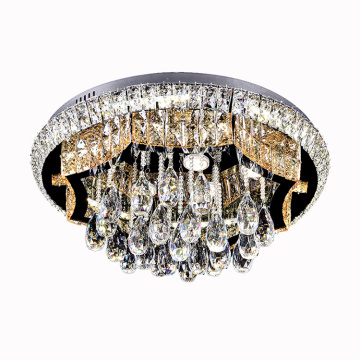 Lampadario moderno a led in cristallo K9 Crystal