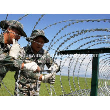 Hot Sale Galvanized Razor Wire Factory