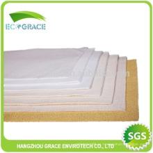 Fertilizantes polvo de tela colector bolsillo de filtración de poliéster