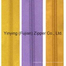 3 # 4 # 5 # 7 # 8 # Nylon Cadeia Larga Zipper