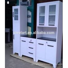 белый металл кухонные шкафы в продажу керале