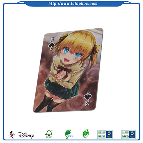 Cartoon customized cheap playing cards