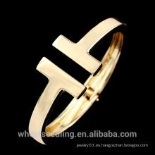2015 joyas más vendidas del oro de la joyería 316l brazaletes del infinito de la pulsera del acero inoxidable