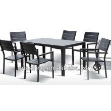 Luxo Durable Fácil Limpeza mesa de jantar cadeiras de jantar móveis de madeira de faia