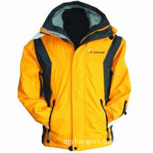 Winter Outdoor Coat, Made of Polyester/Cotton, Keep Warm, Wind-proof