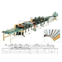 Machine d'impression en plastique de profil de PVC