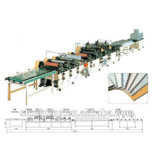 Máquina de impressão de perfil de PVC de plástico