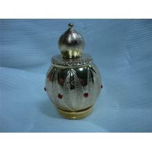 30ml Metal Perfume Bottle with Gold Metal Cap (MPB-13)