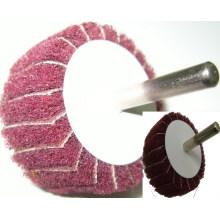 SATC Alumina Oxideabrasive roue à lamelles avec arbre de haute qualité et bon prix