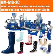Máquina de moldagem por injeção de botas de chuva de plástico