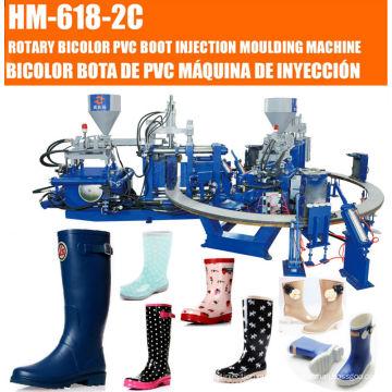 PVC 2 Color Rain Boots Injection Machine