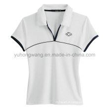Atacado Cotton Men's Impresso T-Shirt, Camisa pólo