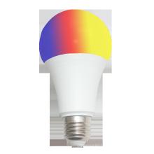 RGBW colorful E27/B22 base good quality remote control led bulb 6w