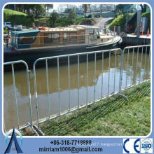 Pedestrian Hot Dipped Galvanized Crowd Control Barrier