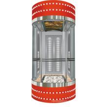 Использование жилого лифта Панорамный лифт с малым машинным залом