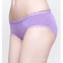 Senhoras Sexy Lace corpo cuecas sem costura cueca de algodão