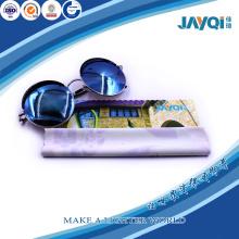 Eyeglass Lens Microfiber Cloth in PVC Bag
