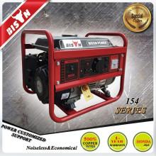 BISON (КИТАЙ) портативный генератор силы динамо, генератор honda 1.5kva, генератор honda 1kw