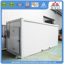 Alta calidad temporaria PU panel sándwich sala de congelación