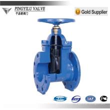 reslient seat cast iron din gate valve pn16 manufacturer