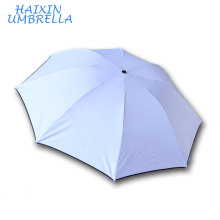 21 Inch*8 Ribs 3 Fold Super Mini Travel Pocket Umbrella White Grey in Print Ads