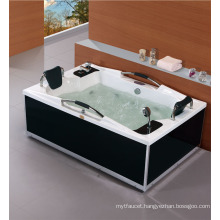 Double Person With Handle Massage Bathtub