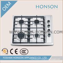 Plaque à gaz pour cuisinière à gaz en acier inoxydable pour appareils électroménagers