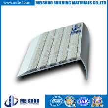 Aluminum Base Abrasive Carborundum Outdoor Step Anti Slip Nosings for Footbridges Safety