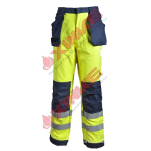Hi vis Flame Resistant Pants with Reflective Tape