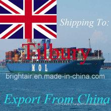 Cheap Shipment Sea Freight Shipping Forwarder From China to Felixstowe, Bradford, Bristol, Birmingham, Tilbury