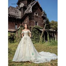Brilhante rendas vestidos de baile de casamento imagens reais de lindos vestidos de casamento vestidos de noiva modernos e bonitos China
