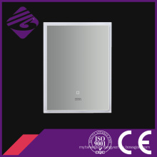 2016 LED Touch Screen PVC Frame Bathroom Mirror with Clock