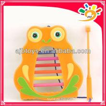 Bunte Kinder Cartoon Eule Orgel Spielzeug Musikinstrument Set Spielzeug für Verkauf