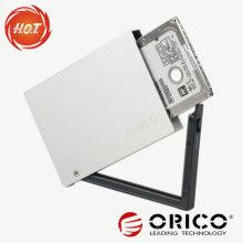 2.5 '' Aluminiumlegierung bewegliches HDD Einschließung