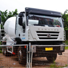 Caminhão de mistura de concreto Hongyan Construction Machinery 12 Cbm
