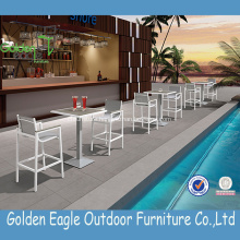 Modern Wicker Garden Furniture Outdoor Bar Set