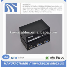 2 Port 250mhz VGA LCD CRT projector Video Monitor Splitter.