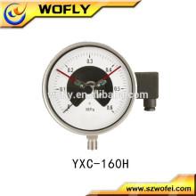 Jauge d'azote à haute pression à contact électrique
