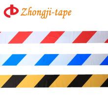 двухсторонняя печать красный и белый предупреждение ленты
