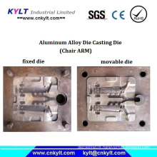 Aluminum Chair Arm Pressure Injection Mould for Spanish