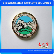 Moeda de honra colorida memorial do fabricante de China
