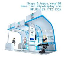 Diseño de stands de exposiciones gratis de 3m x 6m para la feria