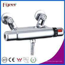 Faucet termostático fixado na parede do chuveiro do controle de temperatura de Fyeer (QH0204)