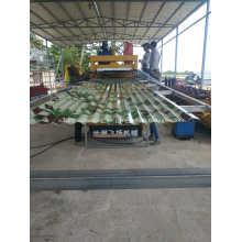 Máquina perfiladora de rollos corrugados de lámina de techo IBR