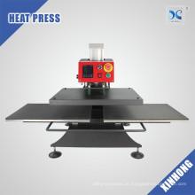 Com Video Hot Sale Automatic Two Work Plates Preço mais baixo T-shirt Heat Press Machine