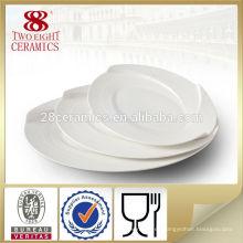 Vajilla de porcelana, platos de porcelana china, marcas, platos ovalados de porcelana fina
