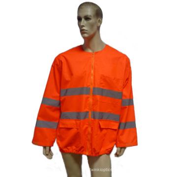 Reflektierender Sicherheitsmantel für die Arbeit