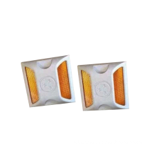 Road Reflector ABS Plastic Stud/ Raised Pavement Marker/Cat Eyes Reflector, Lane Markers Road Studs/