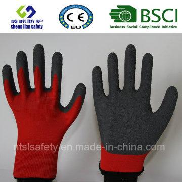 Nylon Latex Labor Latex Gloves